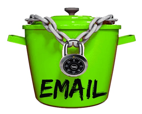 Locked email bucket