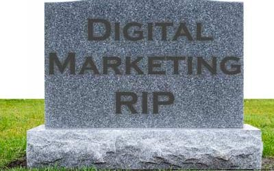 Here Comes the End of Digital Marketing
